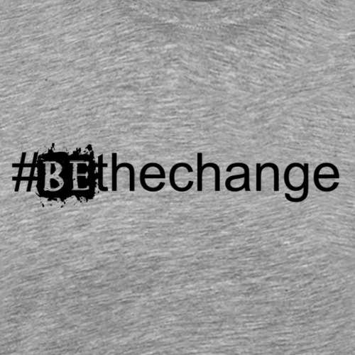 bethechange - Men's Premium T-Shirt