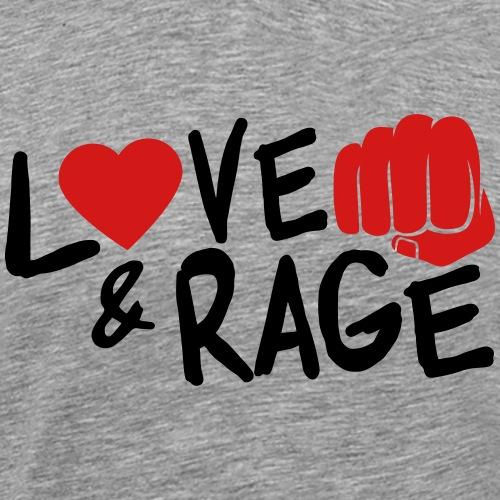 Love & Rage - Men's Premium T-Shirt