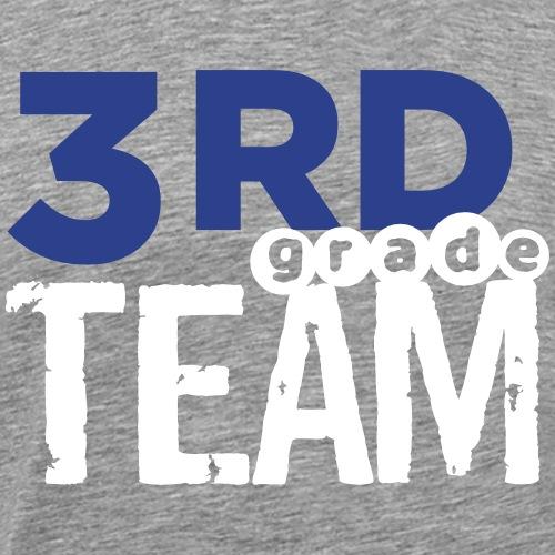 Bold 3rd Grade Team Teacher T-Shirts - Men's Premium T-Shirt