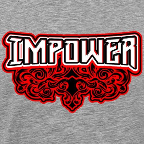 Swirl Impower Design - Men's Premium T-Shirt