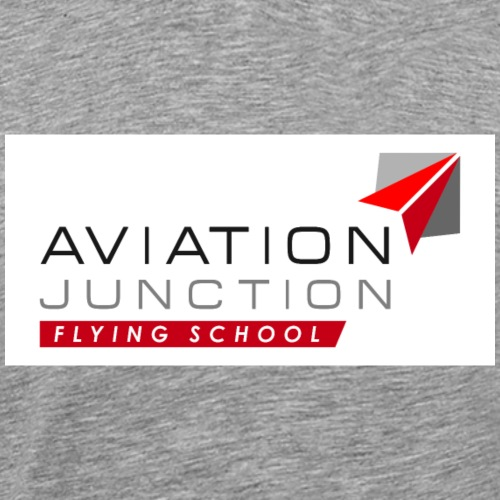 Logo AJ Flying School - Men's Premium T-Shirt