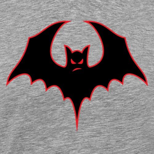 Bat-itude Bat Cartoon - Men's Premium T-Shirt