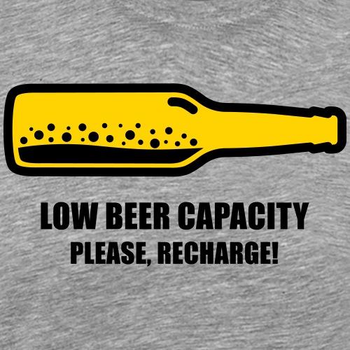 Low Beer Capacity - Men's Premium T-Shirt
