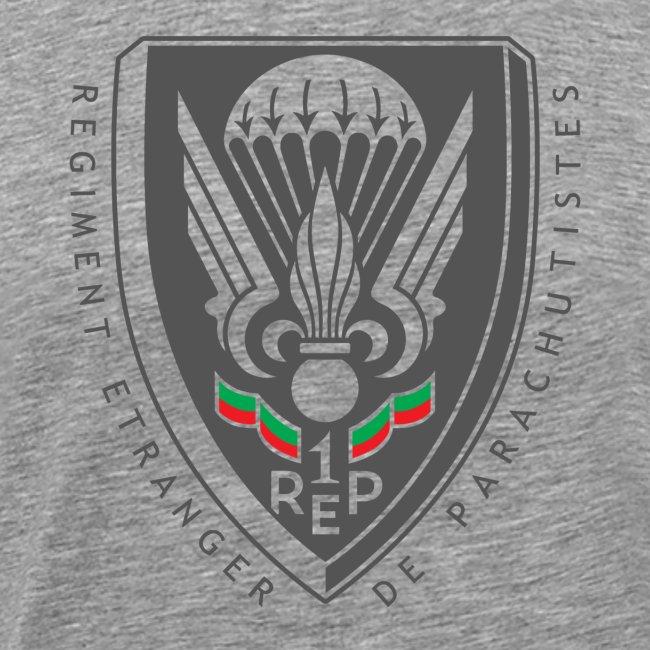 1er REP - Regiment - Badge - Dark