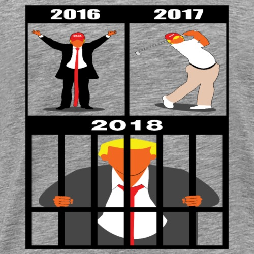 Evolution of Donald - Men's Premium T-Shirt