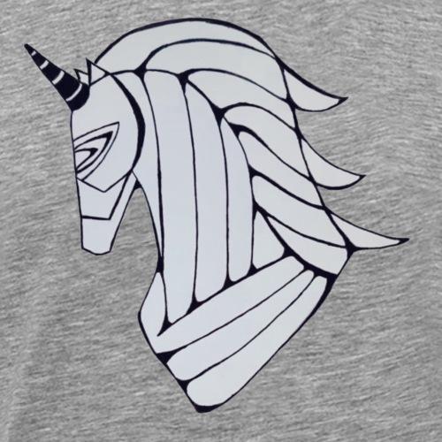 Unicorn Trojan horse - Men's Premium T-Shirt