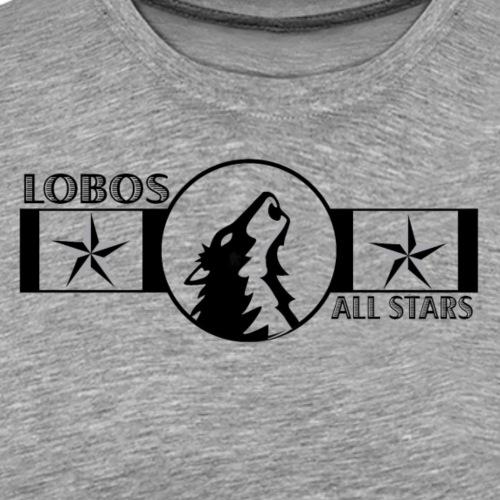 OYAA All Stars Lobos Ribbon - Men's Premium T-Shirt