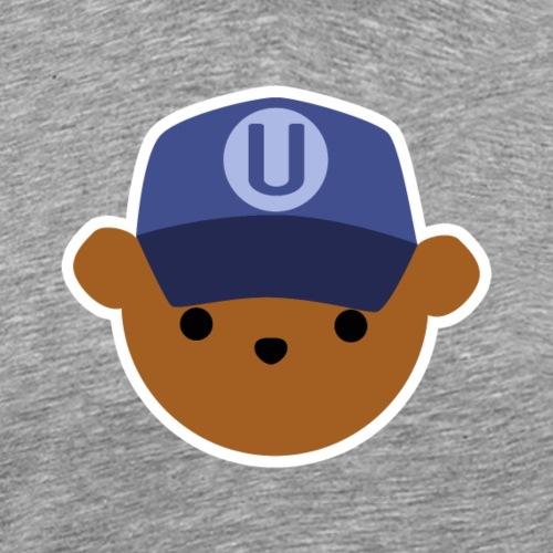 ABC Bear Letter U - Men's Premium T-Shirt