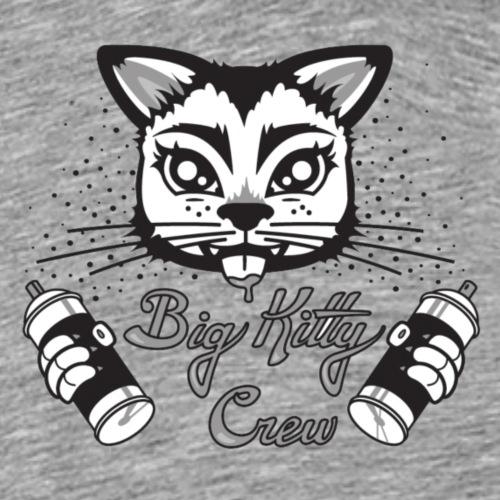 Big Kitty Spray Paint - Men's Premium T-Shirt