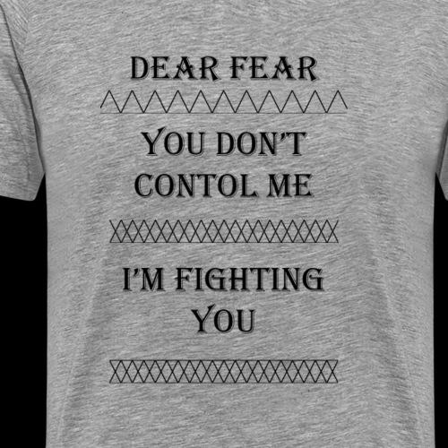 Dear Fear Triangles #1 - Men's Premium T-Shirt