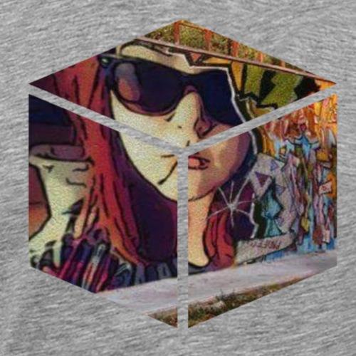 Cube - Men's Premium T-Shirt