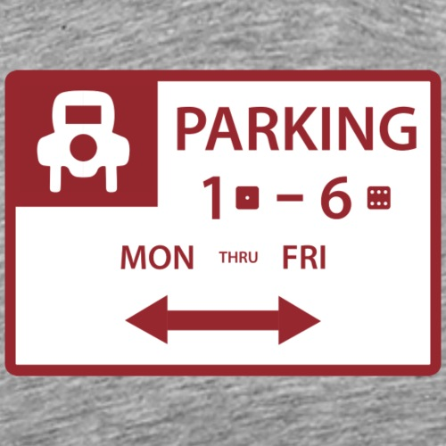 Free Parking - Men's Premium T-Shirt