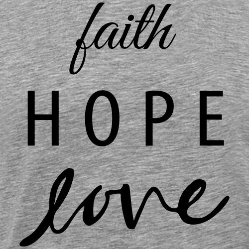 Gateway | Faith Hope Love - Men's Premium T-Shirt
