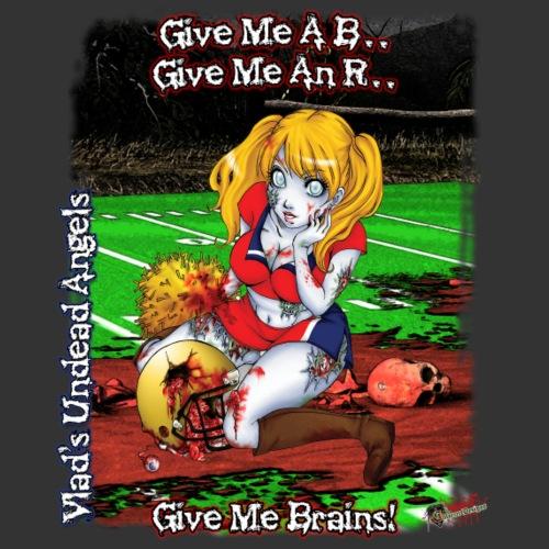 Zombie Cheerleader Buffy - Men's Premium T-Shirt