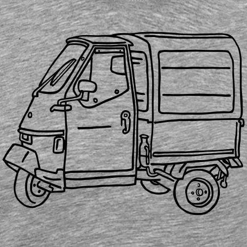 Tricycle Transporter - Men's Premium T-Shirt
