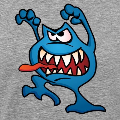 cartoon monster 4 - Men's Premium T-Shirt