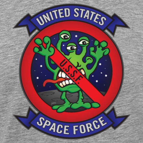 United States Space Force U.S.S.F. - Men's Premium T-Shirt