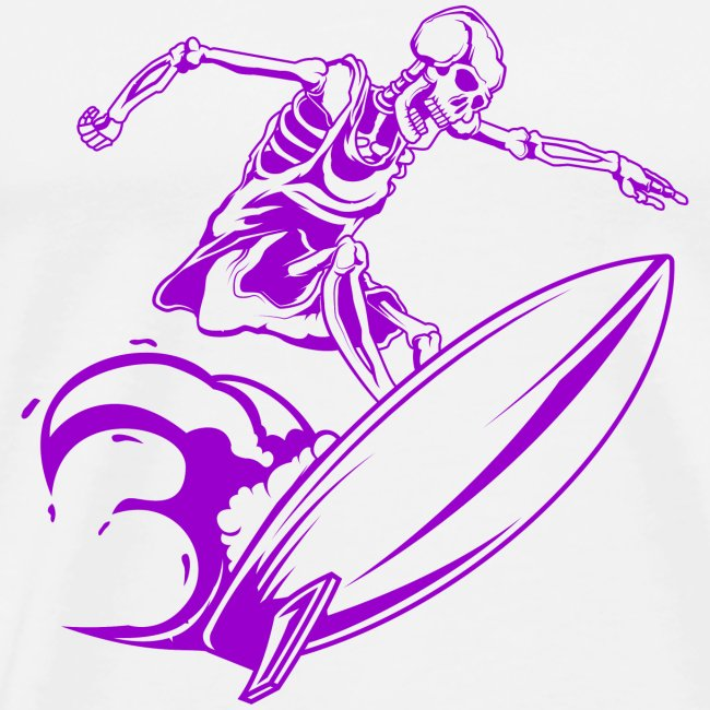 Surfing Skeleton 3b