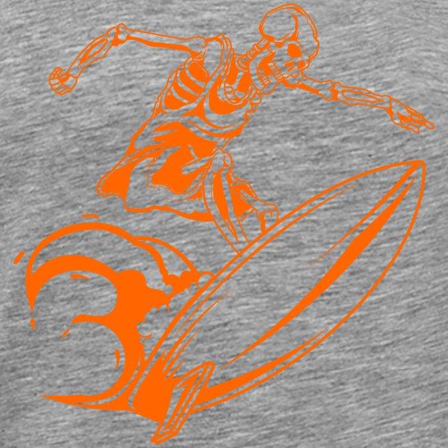 Surfing Skeleton 3a