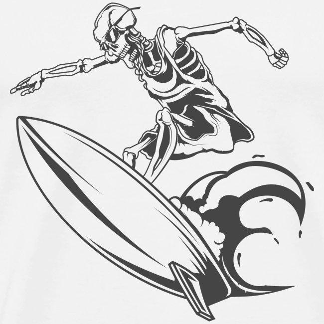 Surfing Skeleton 2
