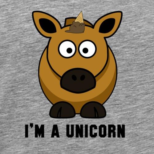 I'm a unicorn - Men's Premium T-Shirt