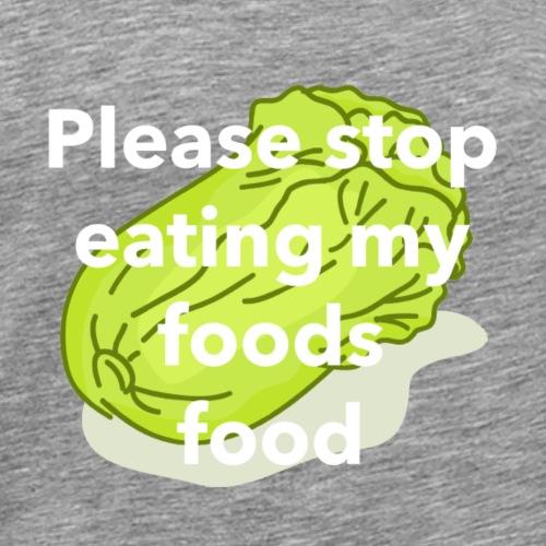 Foods Food - Men's Premium T-Shirt