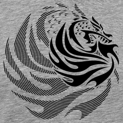 Fire Dragon - Men's Premium T-Shirt