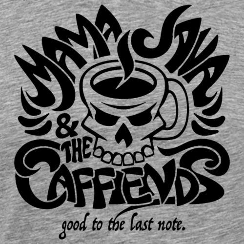 Mama Java & The Caffeinds Rock Band - Men's Premium T-Shirt