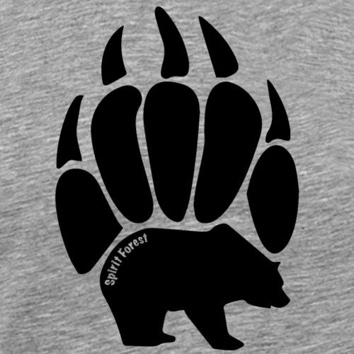 Black Paw Design - Men's Premium T-Shirt