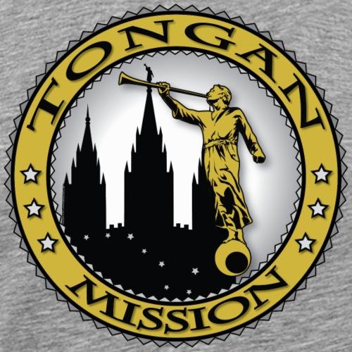 Tongan Mission - LDS Mission Classic Seal Gold - Men's Premium T-Shirt