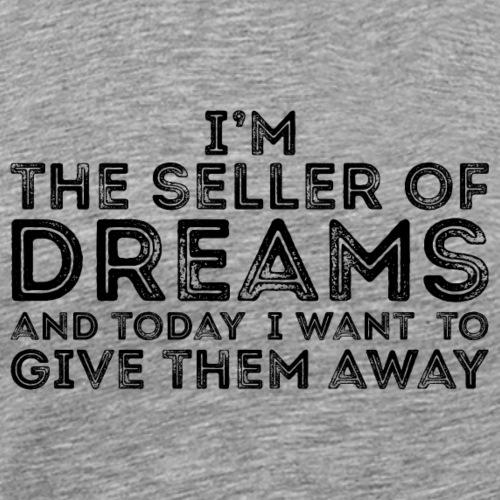 Dream Seller - Black - Men's Premium T-Shirt