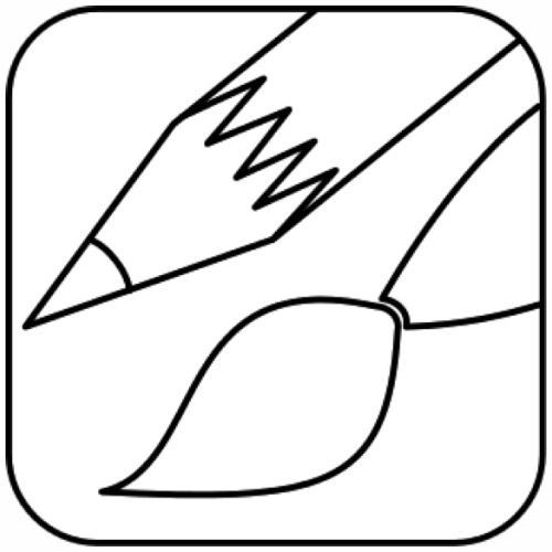 art icon drawing - Men's Premium T-Shirt