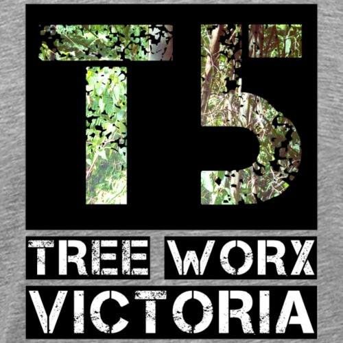 T5 Tree Worx Stencil - Men's Premium T-Shirt