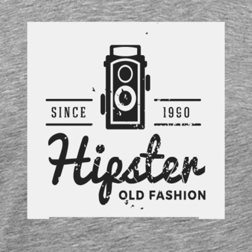 hipster4 - Men's Premium T-Shirt