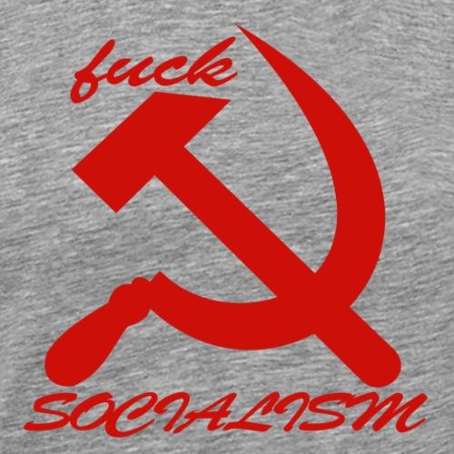 fuck socialism - Men's Premium T-Shirt