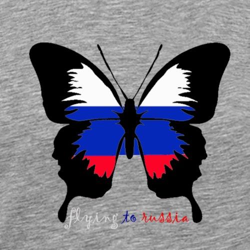 flying to russia - Men's Premium T-Shirt