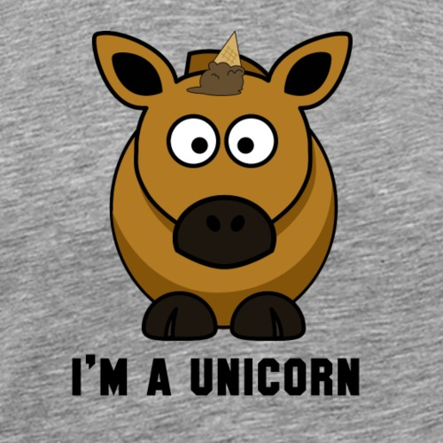 I'm a unicorn - Men's Premium T-Shirt