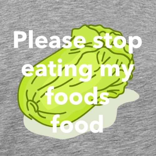 Foods Food - Men's Premium T-Shirt