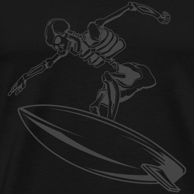 Surfing Skeleton 4
