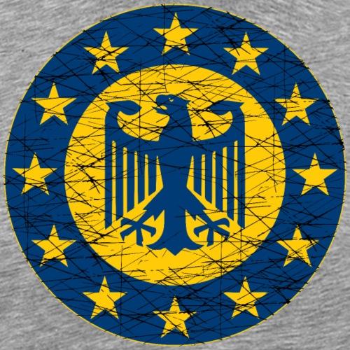 EU and German Flag - Men's Premium T-Shirt