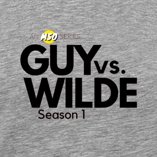 Guy vs Wilde Season 1 Logo - Men's Premium T-Shirt
