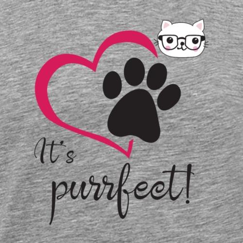 It's Purrfect - Men's Premium T-Shirt