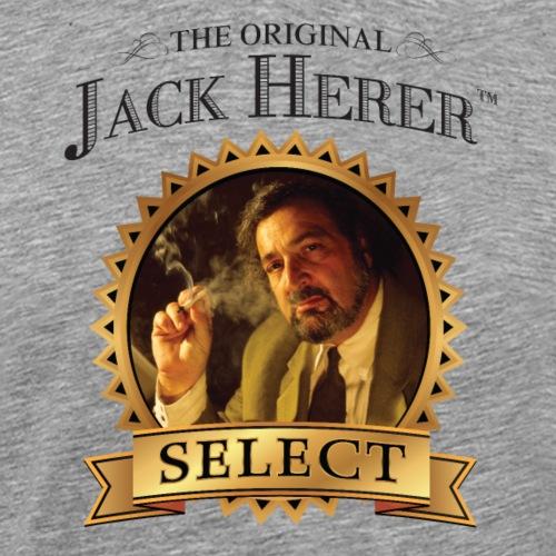 The Original Jack Herer Black 4000 pix - Men's Premium T-Shirt