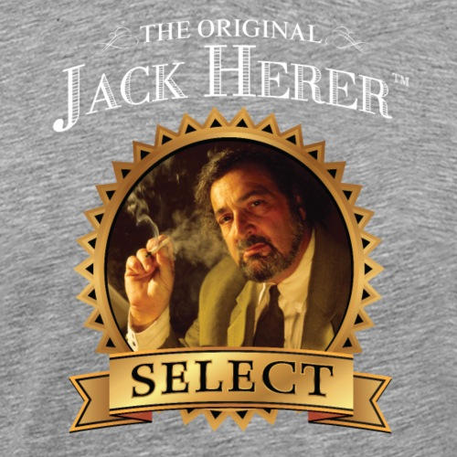 The Original Jack Herer White 4000 pix - Men's Premium T-Shirt