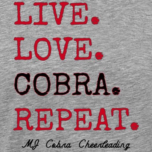Live Love Cobra - Men's Premium T-Shirt