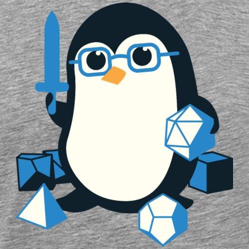 Penguin Dungeons &Dragons - Men's Premium T-Shirt