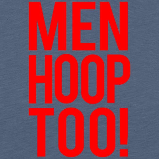Red - Men Hoop Too!