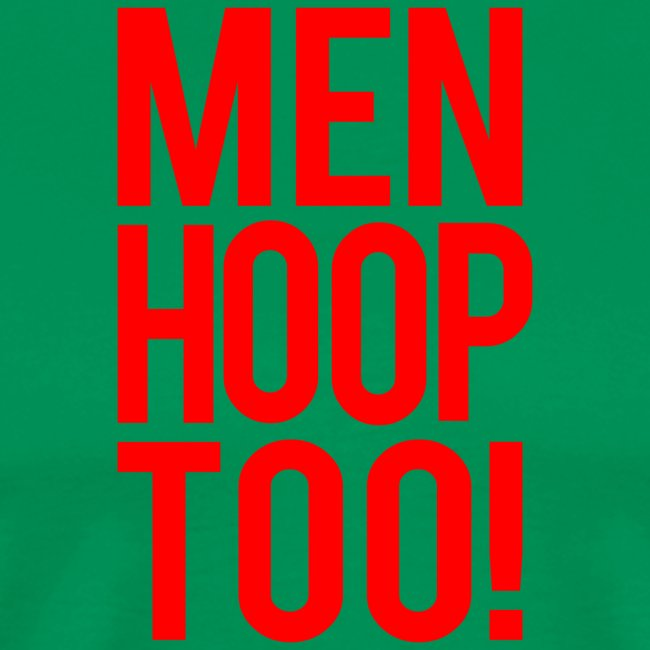Red - Men Hoop Too!