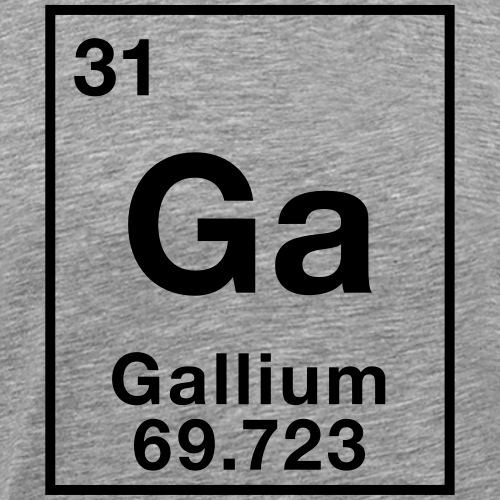 Gallium - Men's Premium T-Shirt