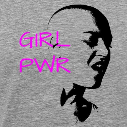 GirlPWR Girl Power Women Graphic for T-shirts - Men's Premium T-Shirt